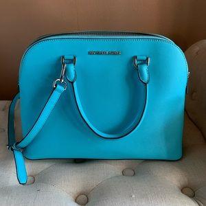 🔥NWOT🔥 Michael Kors Aquamarine Dome Handbag